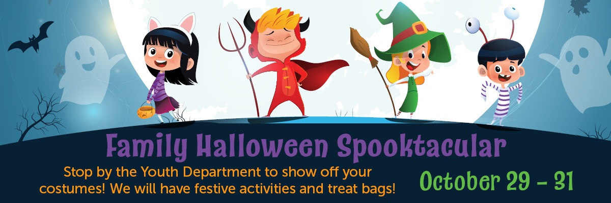 Family Halloween Spooktacular at the Winnetka Library